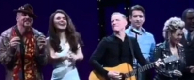 BWW TV: Composer Bryan Adams Takes The Stage At PRETTY WOMAN For A Curtain Call Jam!