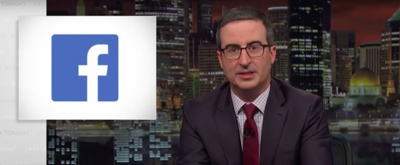 VIDEO: John Oliver Discusses Facebook's Inability to Censor Hate Speech on LAST WEEK TONIGHT