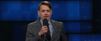 VIDEO: Erik Bergstrom Performs Standup on THE LATE SHOW