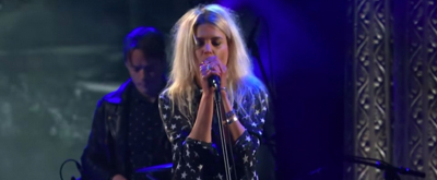 VIDEO: The Kills Perform 'List Of Demands (Reparations)' on The Late Show