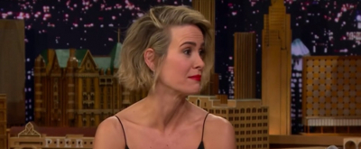 VIDEO: Sarah Paulson Has Emotional Interview and Talks How Drew Barrymore Confronted Her About Her Impression