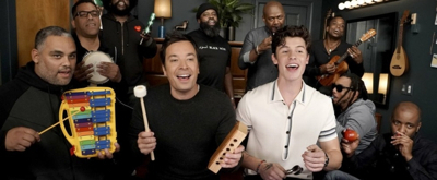 VIDEO: Shawn Mendes, Fallon, and the Roots Sing 'Treat You Better' with Classroom Instruments on THE TONIGHT SHOW