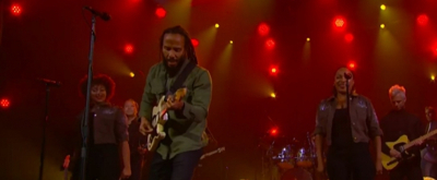 VIDEO: Ziggy Marley Performs 'Rebellion Rises' on The Late Late Show