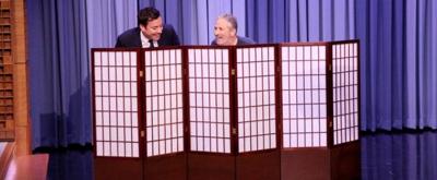 VIDEO: Jimmy & Jon Stewart Swap Pants for Charity on TONIGHT SHOW