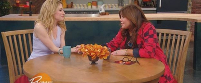 VIDEO: Watch Caissie Levy Chat Being the First Pants-Wearing Princess with Rachael Ray