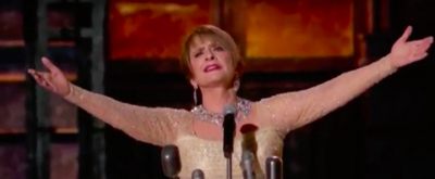 VIDEO: Patti LuPone Sings 'Don't Cry For Me Argentina' at the GRAMMYS