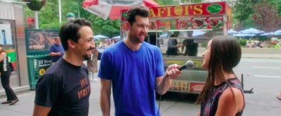 VIDEO: Lin-Manuel Miranda Joins BILLY ON THE STREET to Ask New Yorkers If They're Happy