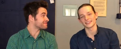 VIDEO: Mike Faist and Corey Cott Talk RAPID TRANSIT: An Ohio Arts Benefit