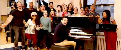 Video: The BE MORE CHILL Gang Loves The First Day of Play Rehearsal!