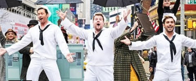 VIDEO: Hugh Jackman, Zac Efron, James Corden Bring 'Crosswalk the Musical' to Broadway!