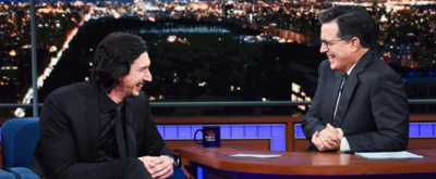 VIDEO: Adam Driver & Stephen Act Out 'Star Wars' Scene on LATE SHOW