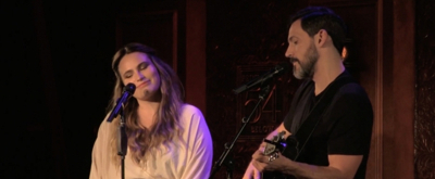 VIDEO: Steve Kazee and Kathryn Gallagher Raise Their Hopeful Voices in 'Falling Slowly'