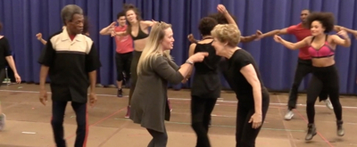 BWW TV: Watch a Sneak Peek of Paper Mill Playhouse's HALF TIME in Rehearsal!