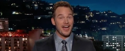 VIDEO: Chris Pratt Steps In To Guest Host JIMMY KIMMEL LIVE!
