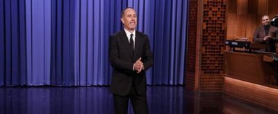 VIDEO: Jerry Seinfeld Does Jimmy's Monologue on THE TONIGHT SHOW