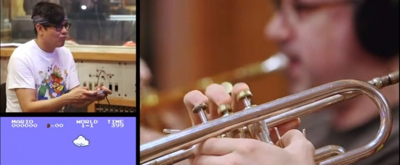 VIDEO: George Salazar Joins Charlie Rosen's 8-Bit Big Band for A Jaw-Dropping Spin On Super Mario Theme!
