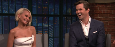 VIDEO: Kristin Chenoweth and Andrew Rannells Talk Broadway, DRAG RACE, & More on LATE NIGHT WITH SETH MEYERS