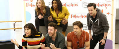 BWW TV: FALSETTOS Gets Ready to Hit the Road! Go Inside Rehearsals with Max von Essen, Nick Adams, Eden Espinosa & More!