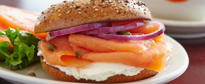 Celebrate Bagels & Lox at JUNIORS RESTAURANTS on 2/9 and Beyond