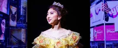Delphi Borich of TUTS's BEAUTY AND THE BEAST Takes Over Instagram Tomorrow!