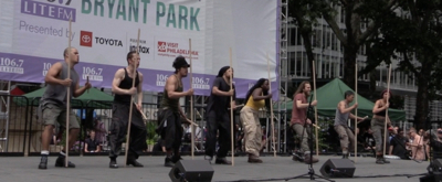 BWW TV: STOMP Finds the Beat at Broadway in Bryant Park