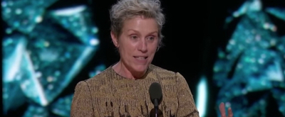 VIDEO: Watch Frances McDormand's Powerful Best Actress Oscars Acceptance Speech