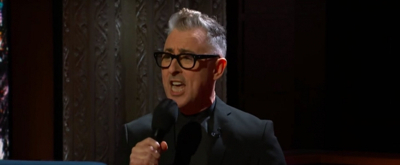 VIDEO: Watch Alan Cumming Perform 'Instinct: The Musical' on THE LATE SHOW