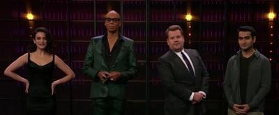 VIDEO: James Corden Invades RuPaul, Jenny Slate & Kumail Nanjiani's Cell Phones