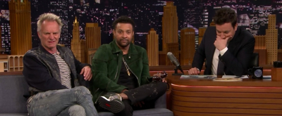 VIDEO: Jimmy Fallon Plays Who Sang It? with Sting and Shaggy