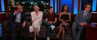 VIDEO: The Cast of AVENGERS: INFINITY WAR Talks Least Trustworthy Cast Member and More on JIMMY KIMMEL LIVE