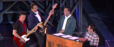 VIDEO: See the Boys of JERSEY BOYS at The Muny Perform 'Cry For Me'