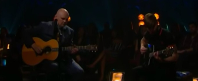 VIDEO: Billy Corgan Performs 'Archer' on THE LATE LATE SHOW
