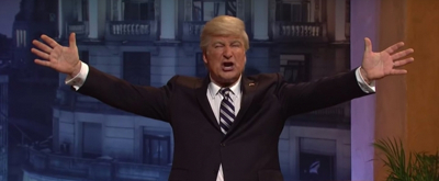 VIDEO: Alec Baldwin's Trump Sings 'Don't Cry For Me Argentina' on Saturday Night Live