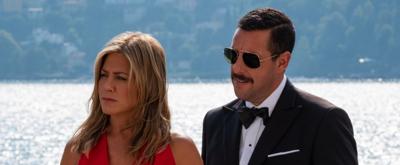 VIDEO: Adam Sandler, Jennifer Aniston Star in MURDER MYSTERY