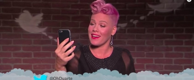 VIDEO: Miley Cyrus, Pink, Imagine Dragons and More Read 'Mean Tweets' on JIMMY KIMMEL LIVE!