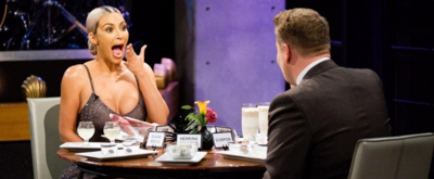 VIDEO: Kim Kardashian Plays Spill Your Guts or Fill Your Guts on CORDEN