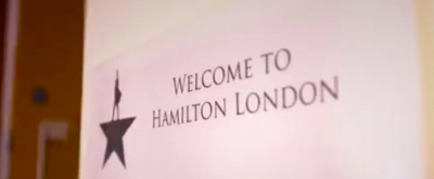 STAGE TUBE: Inside 'The Room Where It Happens' - Hamilton West End's First Day of Rehearsals!