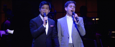 VIDEO: Telly Leung and Taylor Trensch Perform 'Who Will Love Me As I Am?' at Broadway Backwards!
