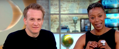 VIDEO: Jamie Parker & Noma Dumezweni Chat the Tony-Nominated HARRY POTTER AND THE CURSED CHILD on CBS THIS MORNING