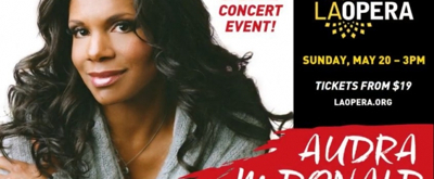 VIDEO: Audra McDonald to Perform with the LA Opera Orchestra 5/20