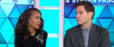 VIDEO: Kerry Washington and Steven Pasquale Discuss AMERICAN SON on TODAY