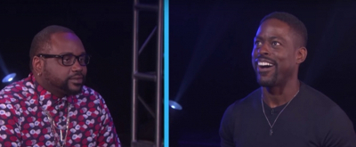 VIDEO: Sterling K. Brown Gets a Scare During the Movie Game on THE ELLEN SHOW