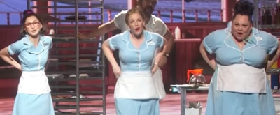 VIDEO: On This Day, April 24- WAITRESS Bakes Up A Sweet Opening Night on Broadway