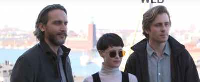 VIDEO: THE GIRL IN THE SPIDER'S WEB Cast is Ready For Their Close Up