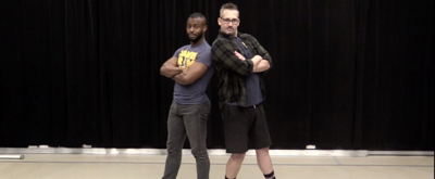 DANCE CAPTAIN DANCE ATTACK: Ben Heaves Away with COME FROM AWAY's Josh Breckenridge!