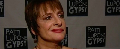 TBT: Patti LuPone Celebrates Opening of GYPSY on Broadway!