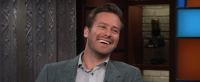 VIDEO: Armie Hammer Talks STRAIGHT WHITE MEN, CALL ME BY YOUR NAME, & More on THE LATE SHOW
