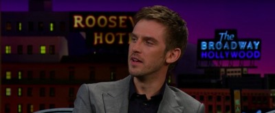 VIDEO: Dan Stevens Shows Off Bar Trick on THE LATE LATE SHOW