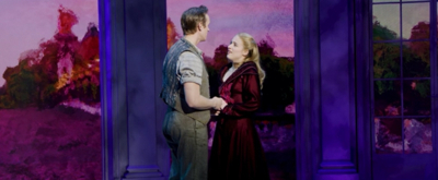 VIDEO: Christy Altomare and Zach Adkins Perform 'At the Beginning' On Stage at ANASTASIA