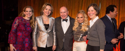 Photo Flash: Kristin Chenoweth, Anna Chlumsky and More Celebrate Renee Fleming at Met Opera Guild's 83rd Annual Luncheon